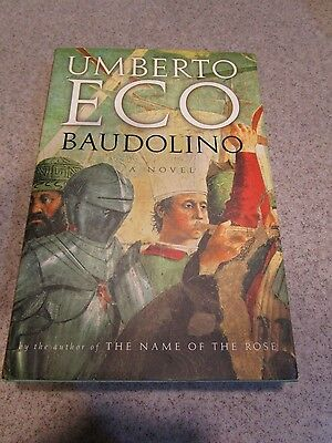 Baudolino by Umberto Eco (2002, Hardcover) 1st U.S. Edition