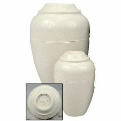 Pet Urn Cremation Urnee Small Inexpensive Photo Area Decorative Rose Tan