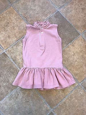 Baby Girls Spanish Pink Polo Dress Age 18-24months