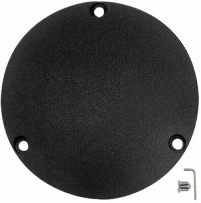 Drag Specialties Wrinkle Black Derby Cover 1969-1999 Harley FL FX Big Twin
