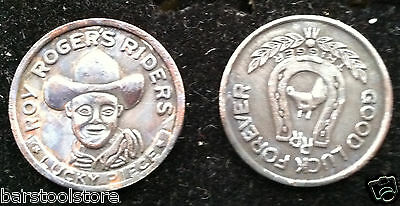 Western Old West Roy Rogers Good Luck Token