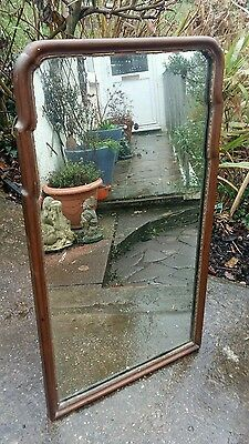 beautiful antique easel mirror, table top, dressing table mirror