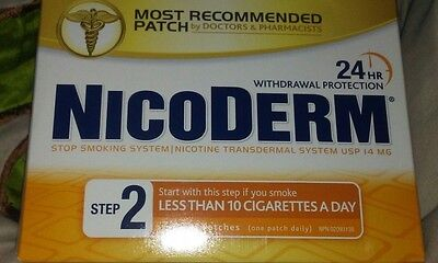 NICODERM STEP 2 (14MG) CLEAR NICOTINE PATCHES  (7 Patches)