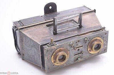 Demaria Jumelle Capsa 3D Stereo, Panorama 45X10.7Mm Camera W/ Zeiss 65Mm Protar