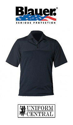 Blauer Dark Navy Short Sleeve Polyester Armorskin Base Shirt - All Sizes - 8372
