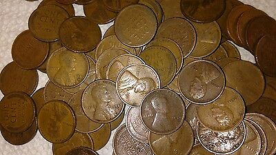 1920-1929 PDS Twenties Dated Lincoln Wheat Cent Penny Roll