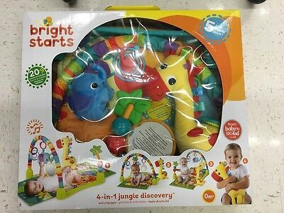 Bright Starts Light Up Lagoon Activity Gym Baby Gear Infant Toddler Play Toys