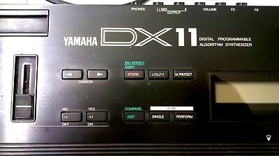 YAMAHA DX11 DX-11 working status some scratches VINTAGE