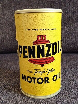 Vintage PENNZOIL Motor Oil Can AM RADIO Rare WORKS!! Advertising Piece See Video
