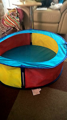 Gently Used Baby Playpen Play / Pop-Up Ball Pit