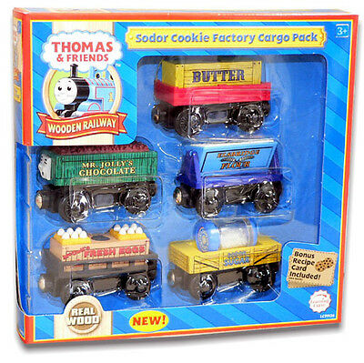 Thomas The Tank And Friends-Sodor Cookie Factory Cargo Pack **new In Box/rare**