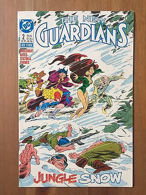 The New Guardians 2 1St Appearance Of Snowflame (1988, Dc)
