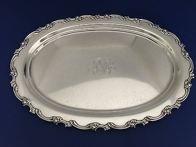 "Sterling Silver 925/1000 18"" Serving Tray Mauser Manf Co"