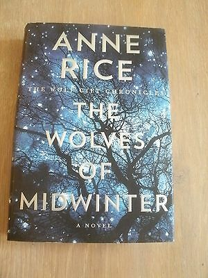 The Wolves of Midwinter by Anne Rice, HC/DJ, First Edition