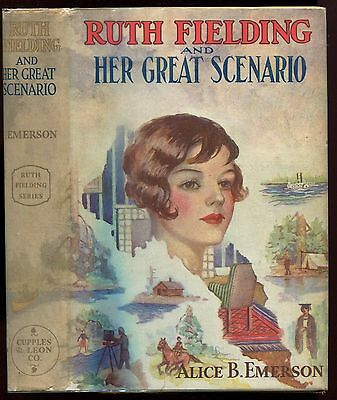 Ruth Fielding and Her Great Scenario, by Emerson, in DJ