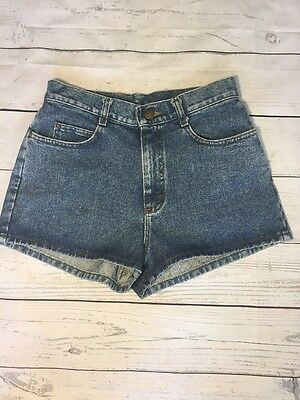 Deadstock New With Tags Womens Vintage High Waisted Jean Shorts Size 9 Mom Jeans