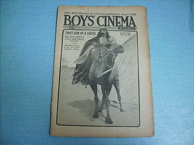 BOYS CINEMA  issue 167 BUSTER KEATON in DAY DREAMS photo