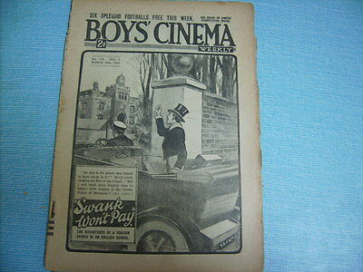 BOYS CINEMA  issue 170 FILMING OF A FOREST FIRE