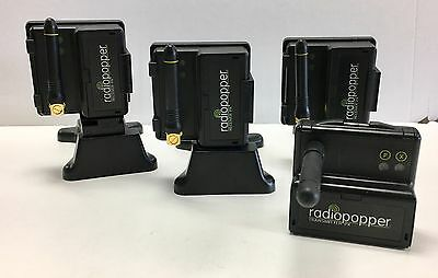 Radiopopper Px System Set For Canon: 1 Transmitter & 3 Receivers Exc. Cond.