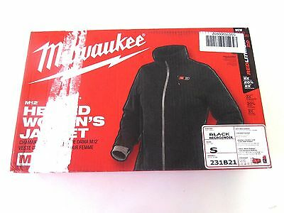Milwaukee Women's Small M12 12-Volt Lithium-Ion Cordless Black Heated Jacket Kit