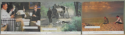 LCJ 832 THE MAN WHO FELL TO EARTH DAVID BOWIE 3 Orig UK 8x10 LOBBY CARDS FOH