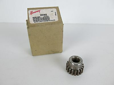 "Browning NSS1618 External Tooth Spur Gear 1/2"" Bore"