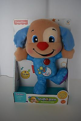 Fisher-Price Laugh Learn Nighttime Puppy Toy For Baby Kids Christmas Gift NIB
