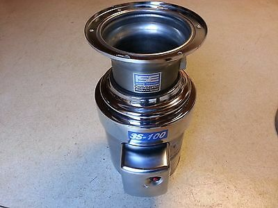 In-Sink-Erator SS100-28 Commercial Garbage Disposal Disposer 1 HP 115 208-230V