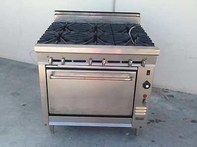 Montague V136 Legend Gas Range W/convection Oven, Used, Works Great!!!