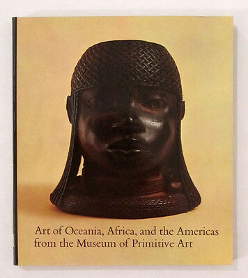 MUSEUM of PRIMITIVE ART African Oceanic Pre-Columbian America 1969 SCULPTURE BK