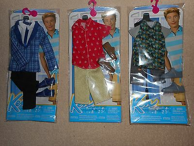 Nice Lot of New Barbie Doll Clothes- For KEN