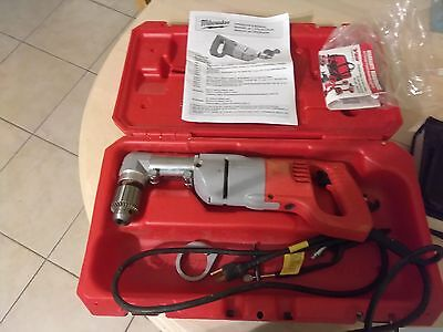 Miliwaukee right angle drill model #3102-6 1/2in  good condition