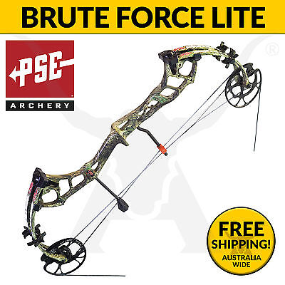 PSE Archery Brute Force Lite 2017 Compound Bow - Bowhunting & 3D Target Shooting