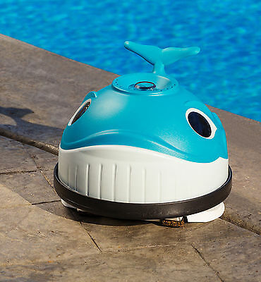Automatic Above Ground Swimming Pool Cleaner Robotic Wanda Whale Long Lasting
