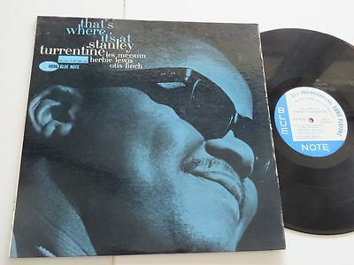 STANLEY TURRENTINE That´s where it´s at BLUE NOTE BLP 4096 US Mono