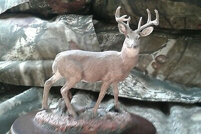 whitetail deer figurine collectible statue ,HAMILTON COLLECTION