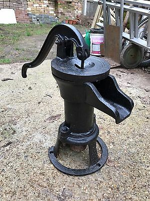 Vintage Cast Iron Evans Lion 1800's Water Pump