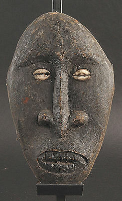 Spirit Face from a larger carving Middle Sepik River  Papua New Guinea