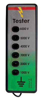 Fenceman Electric Fence Tester Voltmeter With 6 Lights