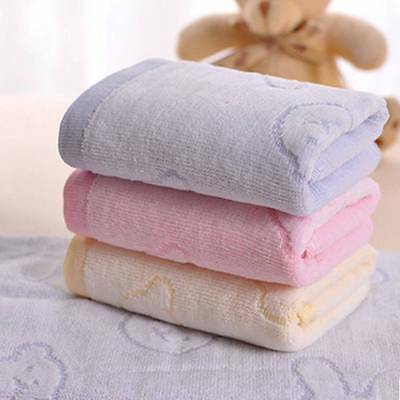 Comfortable Baby Face Towels 100% Cotton Children Toddler Infant Cartoon Towels