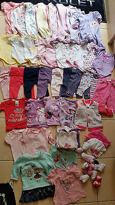 Baby Girls Clothing Pants Tops Onesies Size:000 - over $200 worth- over 50 items