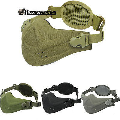 Tactical Anti Dust Pollution Half Face Motorbike Cycling Running Neoprene Mask