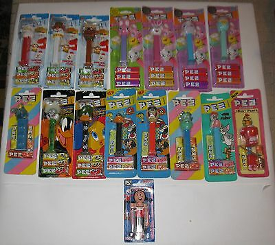 Vintage Disney & Others  Pez  Lot of 16 Differents MB FREE SHIPPING