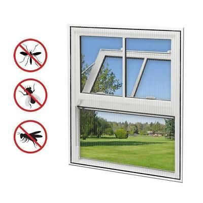 4 Piece Fly Screen Window 150x130cm Insect Protection Mosquito Net