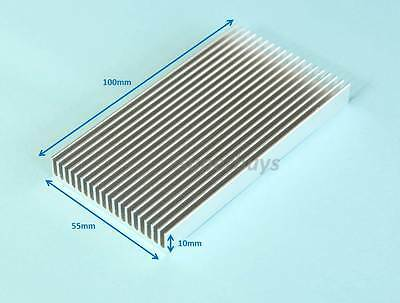 100 x 55 x 10mm Heatsink Heat Sink Electronic Computer Electrical CPU Cool RAM