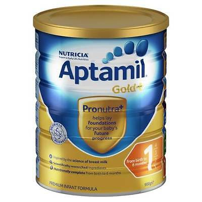 Nutricia Aptamil Gold+ 1 Infant Formula 900G 0 - 6 months