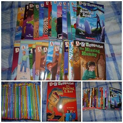 A to Z Mysteries Books 10 for $12 Free Shipping!