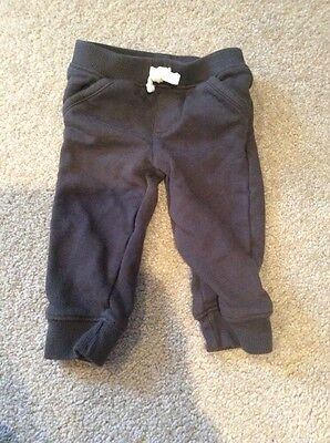 Carter's baby boy jogging pants size 9 months in VGUC