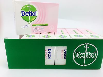 Dettol Bar Soap anti- bacterial 100g each Moisturising Gentle Skin x6