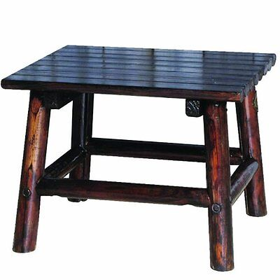 Char Log 24 Inch By 18 High End Table 74 43 Picclick